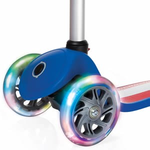 Fantasy flashing scooter wheel lights