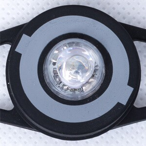 Globber safety flash light for scooters - 2 lighting functions