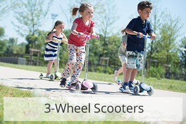 Globber 3-Wheel Scooters