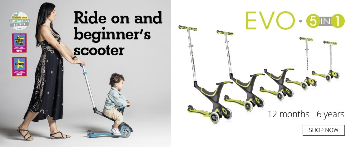 Globber 5-in-1 Evo Scooter