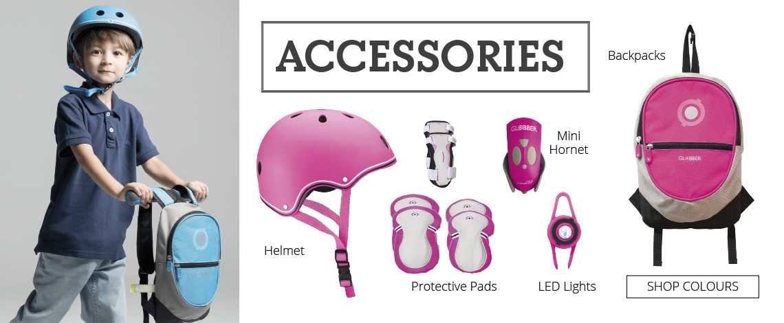 Globber Pink Scooter Accessories